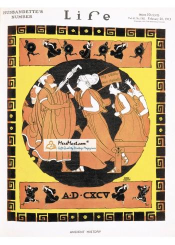 Life, February 20, 1913. Poster Print. Irvin.