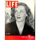 Cover Print of Life, January 23 1939
