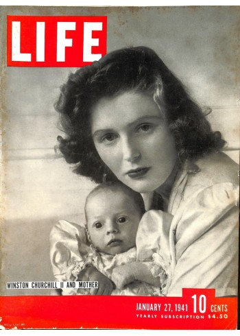 Cover Print of Life, January 27 1941