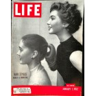 Cover Print of Life, January 7 1952