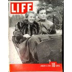 Cover Print of Life, January 8 1940