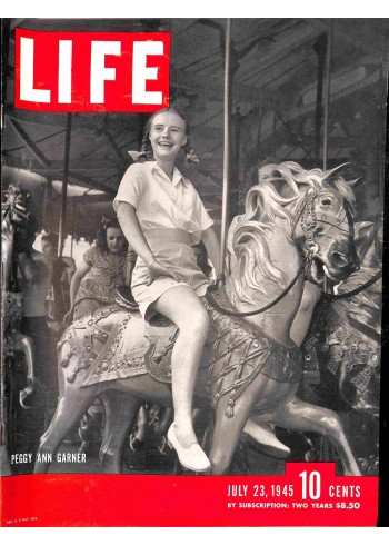 Cover Print of Life, July 23 1945