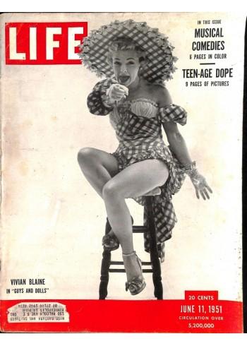 Cover Print of Life, June 11 1951