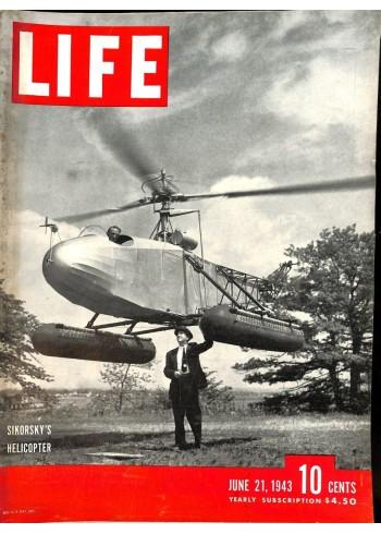 Cover Print of Life, June 21 1943