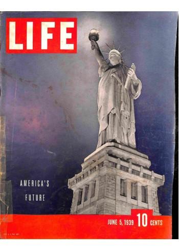 Cover Print of Life, June 5 1939