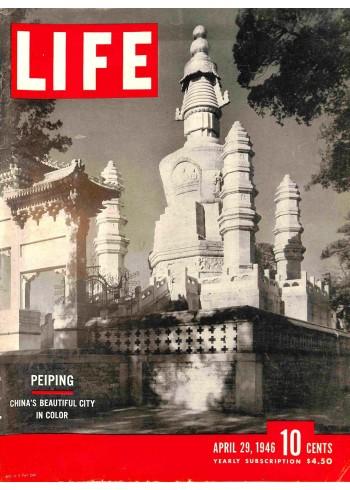Cover Print of Life, April 29 1946