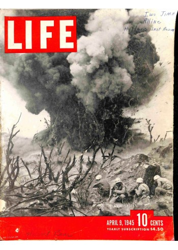 Cover Print of Life, April 9 1945