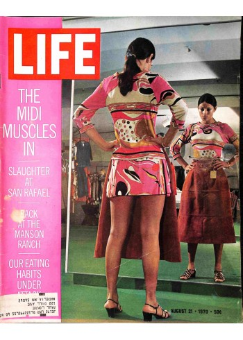 Cover Print of Life, August 21 1970