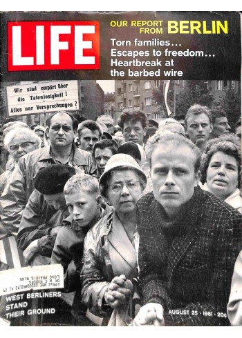 Cover Print of Life Magazine, August 25 1961