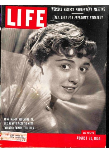 Cover Print of Life Magazine, August 30 1954