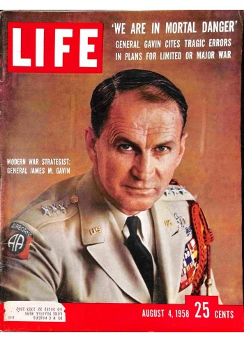 Cover Print of Life Magazine, August 4 1958