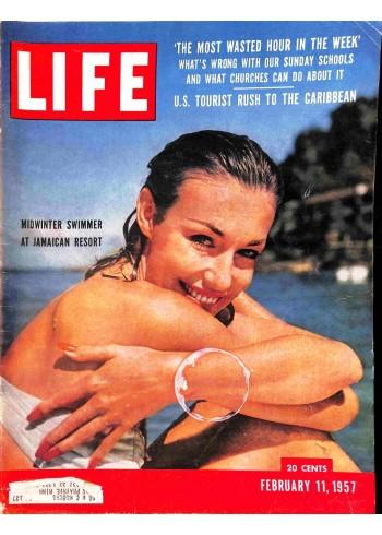 Life Magazine, February 11 1957