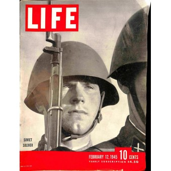 Cover Print of Life, February 12 1945