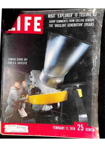 Cover Print of Life, February 17 1958