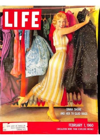 Cover Print of Life Magazine, February 1 1960