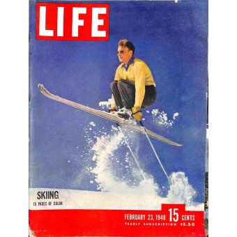 Cover Print of Life Magazine, February 23 1948