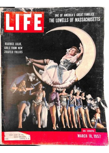 Cover Print of Life Magazine, March 18 1957