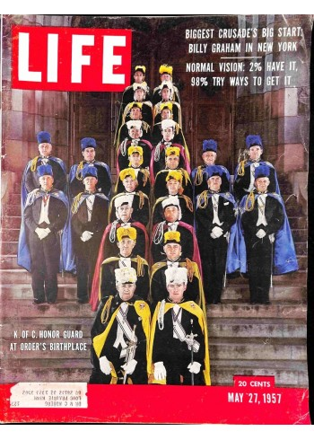 Cover Print of Life Magazine, May 27 1957