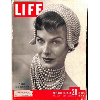 Cover Print of Life, November 14 1949