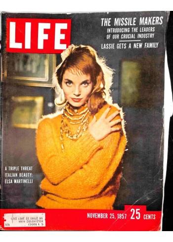 Life Magazine, November 25 1957