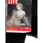 Cover Print of Life Magazine, October 11 1948