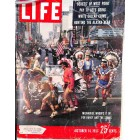 Cover Print of Life Magazine, October 14 1957
