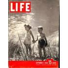 Cover Print of Life Magazine, September 2 1946