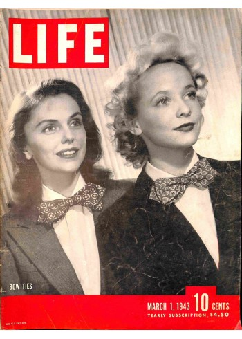 Cover Print of Life, March 1 1943