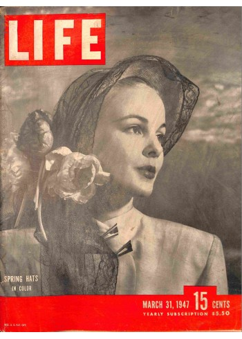 Cover Print of Life, March 31 1947