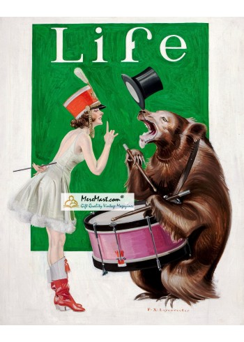 Life, March 9, 1922. Poster Print. Leyendecker.
