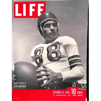 Cover Print of Life, October 22 1945