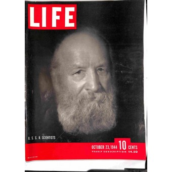 Cover Print of Life, October 23 1944