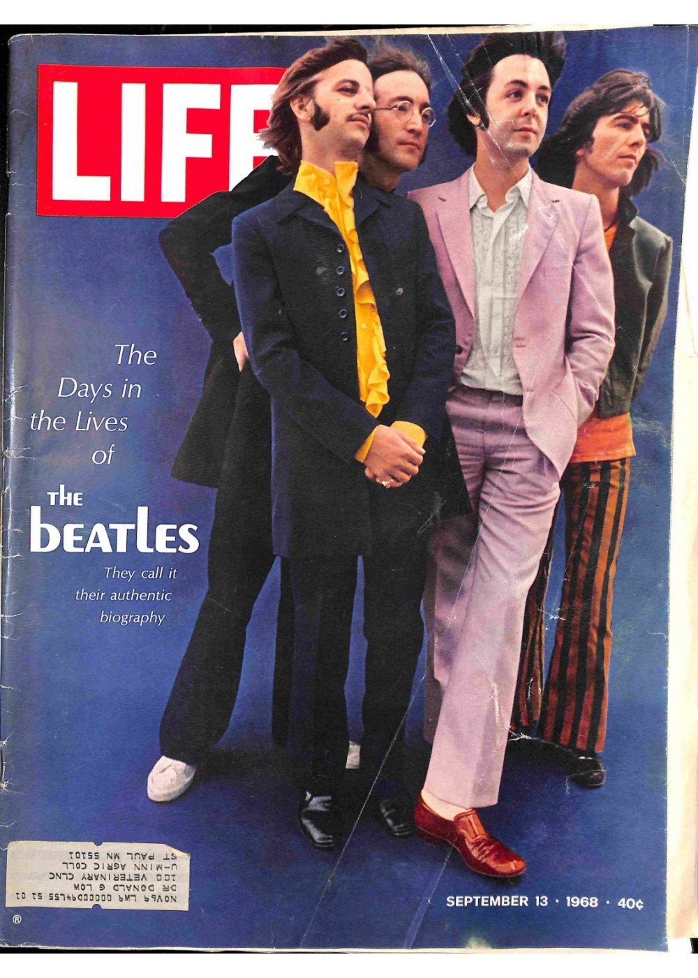 The Beatles Polska: The Beatles na okładce magazynu Life