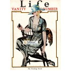 Life, September 19, 1921. Poster Print. Coles Phillips.