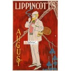Lippincotts, August, 1915. Poster Print.
