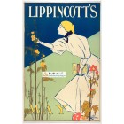 Lippincotts, May, 1895. Poster Print. Will Carqueville.