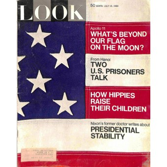 Cover Print of Look Magazine, July 15 1969