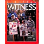 Cover Print of Lutheran Witness, April 1991