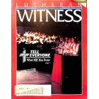 Cover Print of Lutheran Witness, August 1989