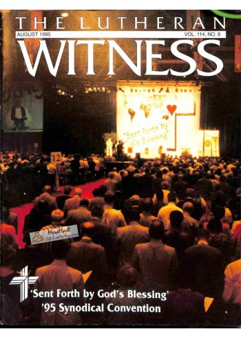 Cover Print of Lutheran Witness, August 1995