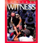 Cover Print of Lutheran Witness, January 1990