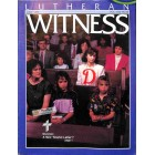 Cover Print of Lutheran Witness, June 1990