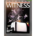 Cover Print of Lutheran Witness, March 1992