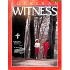 Cover Print of Lutheran Witness, November 1990