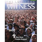 Cover Print of Lutheran Witness, November 1995