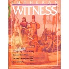 Cover Print of Lutheran Witness, October 1992