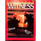 Cover Print of Lutheran Witness, September 1991