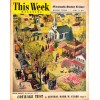 Cover Print of MN Sunday Tribune Picture - This Week, April 13 1952