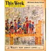 Cover Print of MN Sunday Tribune Picture - This Week, August 7 1955