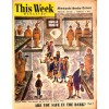 Cover Print of MN Sunday Tribune Picture - This Week, February 3 1952